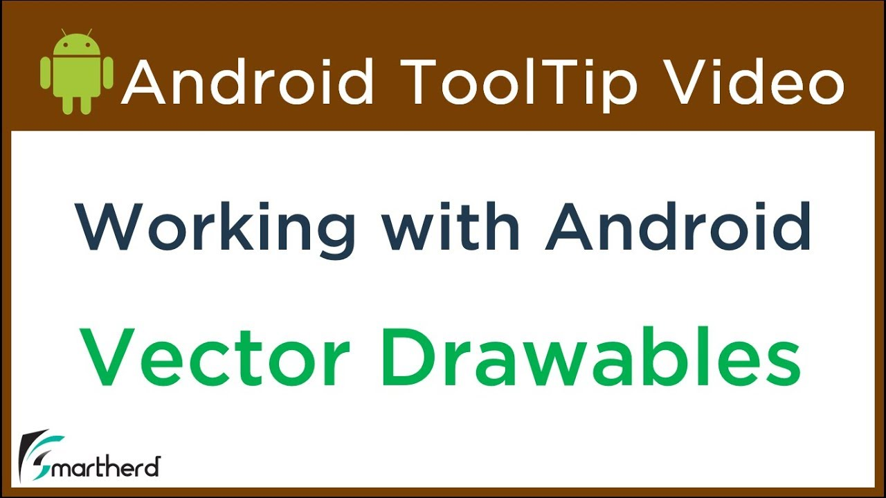 Multiple Screen Support: Working with Android Vector Drawable using Vector  Asset Studio