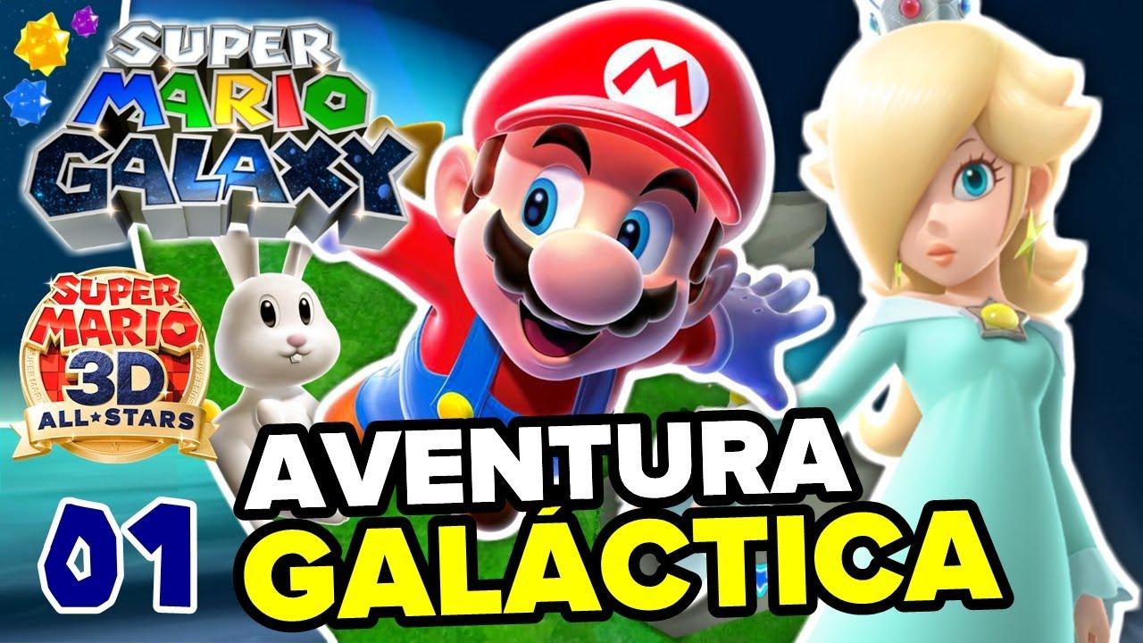 UNA AVENTURA GALÁCTICA ✨🍄 SUPER MARIO GALAXY #1 (NINTENDO SWITCH - SUPER MARIO 3D ALL STARS)