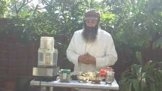 Raw Food Recipe: Nutty Nori Rolls