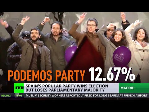 Spain Election: Anti-austerity party makes gains, ruling party loses majority