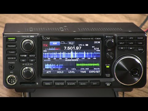 In-depth with Icom's IC-7300 Transceiver
