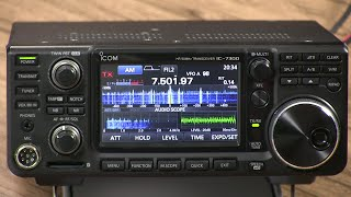 in depth with icom s ic 7300 transceiver