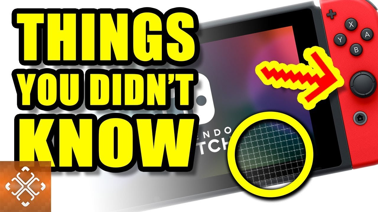 10 Awesome Things You Didn't Know Your NINTENDO SWITCH ...