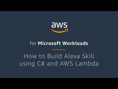 How to Build Alexa Skill using C# and AWS Lambda