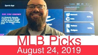 MLB Picks (8-24-19) | Part 2 of 2 | Major League Baseball Expert Predictions | Vegas Lines & Odds