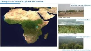 Quels futurs climats pour l'Afrique ?