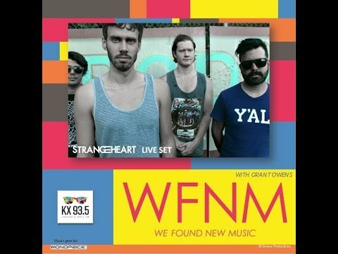 STRANGEHEART Live Set & Interview on WE FOUND NEW MUSIC - KX 93.5 FM