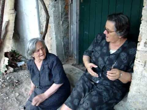 Fight between 2 Greek old Women [ part 2] (tsakos)