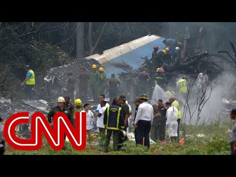 Cuban state media reports that there were 104 people on board a plane that crashed shortly after takeoff at Havana\'s airport.