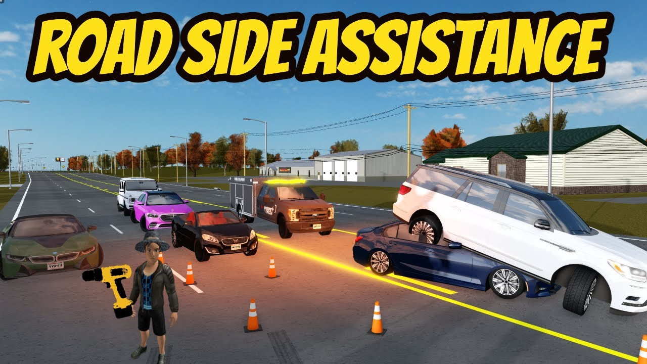 Download Greenville, Wisc Roblox l Car Accident Road Side Assistance RP