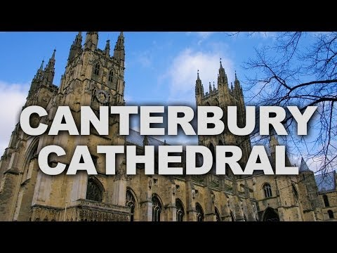 Canterbury Cathedral, One of the Oldest Christian Structures in England