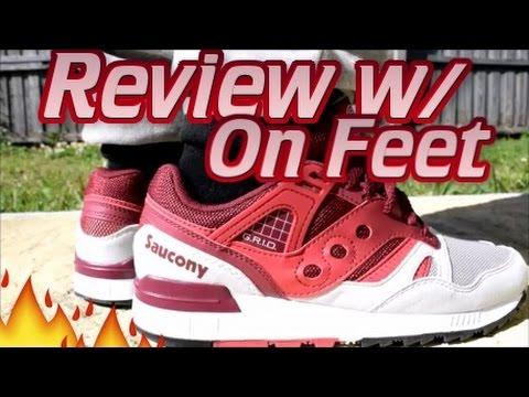 Saucony Grid Sd On Feet