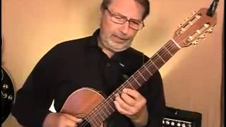 O Holy Night -  Fingerstyle Guitar - Lesson Demo