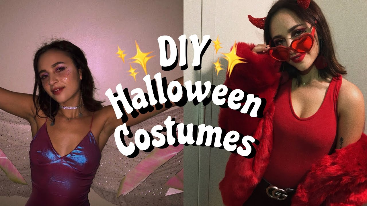 Devil Fairy Halloween Costumes Diy Affordable Easy Youtube