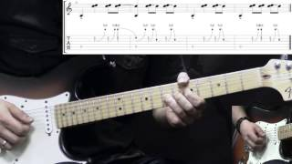 Jimi Hendrix - Manic Depression - Blues Guitar Lesson (with Tabs)