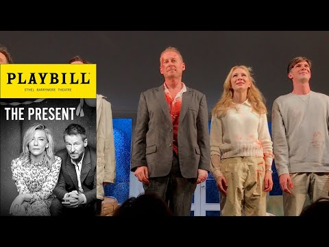 Cate Blanchett Curtain Call in The Present on Broadway with Richard Roxburgh