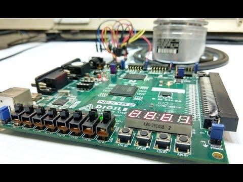 FPGA Lab 01 – Leitura de um encoder industrial Heidenhain em alta precisão