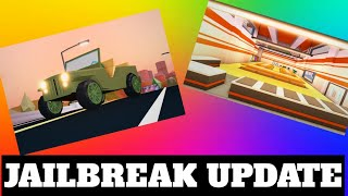 NEW PRISON, MILITARY JEEP, POLICE STATION UPDATE?? [ROBLOX] | Jailbreak