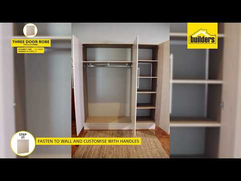 How To Assemble The Builders Pride Standard Built In Cupboard Youtube