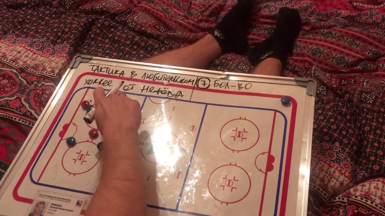 «ДУМАЮЩИЙ» любительский хоккей от Нефёда. Ситуация 8. БОЛЬШИНСТВО