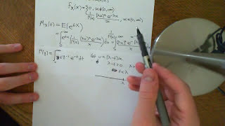 Moment Generating Function of Gamma Distribution Part 2