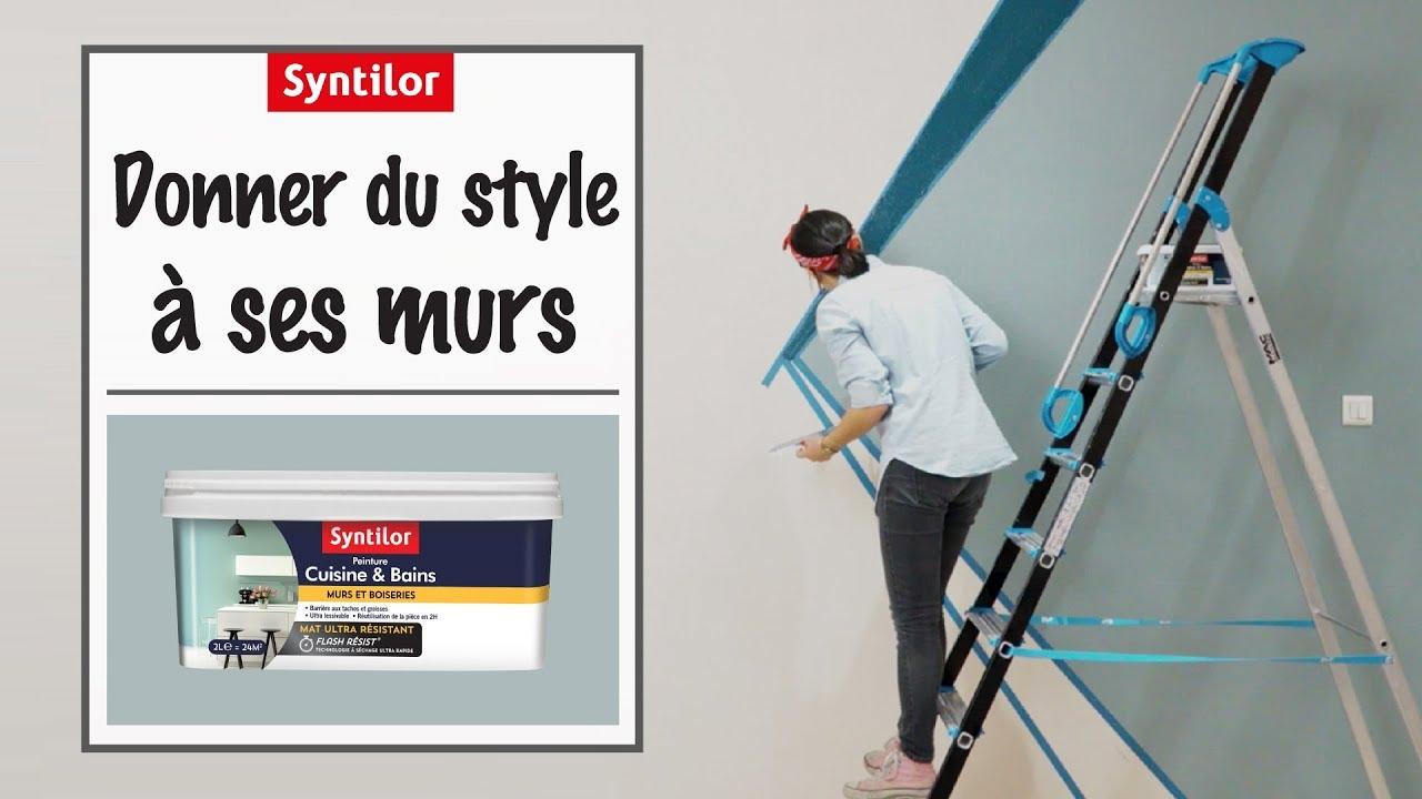 peinture murale cuisine bains comment peindre vos murs en 1 journ e youtube. Black Bedroom Furniture Sets. Home Design Ideas