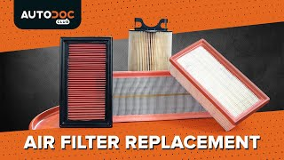 How to replace Air Filter on - video tutorial