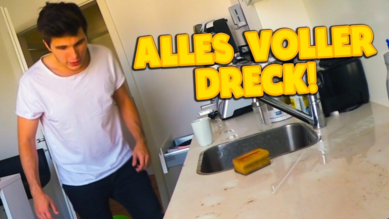 Rohrbruch komplette kuche voller dreckwasser youtube for Komplette küche