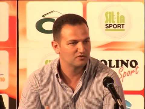 Vladimir Žutković, secretary for culture and sport of Herceg Novi, Draw for Mini Euro 2014
