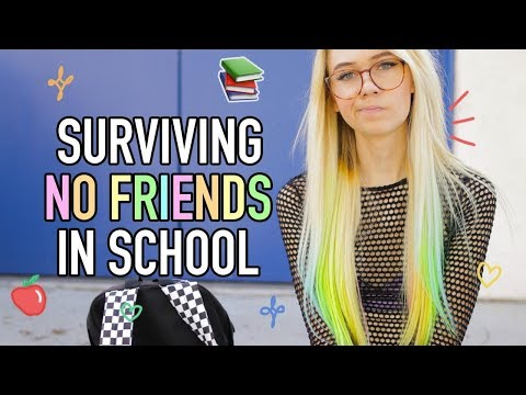 How to Survive Back to School with No Friends