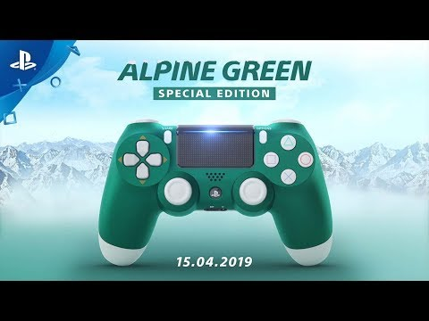 Sony Dualshock 4 Special Edition Alpine Green
