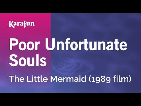 Karaoke Poor Unfortunate Souls - The Little Mermaid *