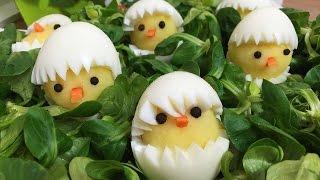 Ostern -  Eier Kartoffel Küken