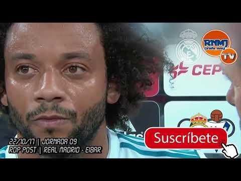 Declaraciones de MARCELO post Real Madrid 3-0 Eibar (22/10/2017)