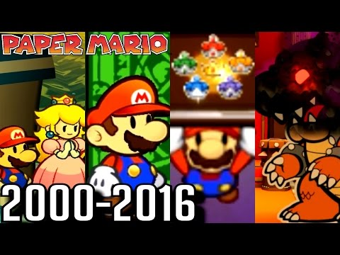 Paper Mario ALL ENDINGS 2000-2016 (Wii U, 3DS, GC, N64)