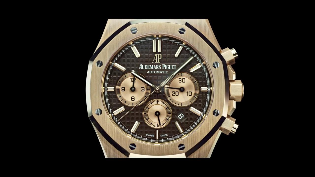 Royal Oak Chronograph Audemars Piguet Youtube