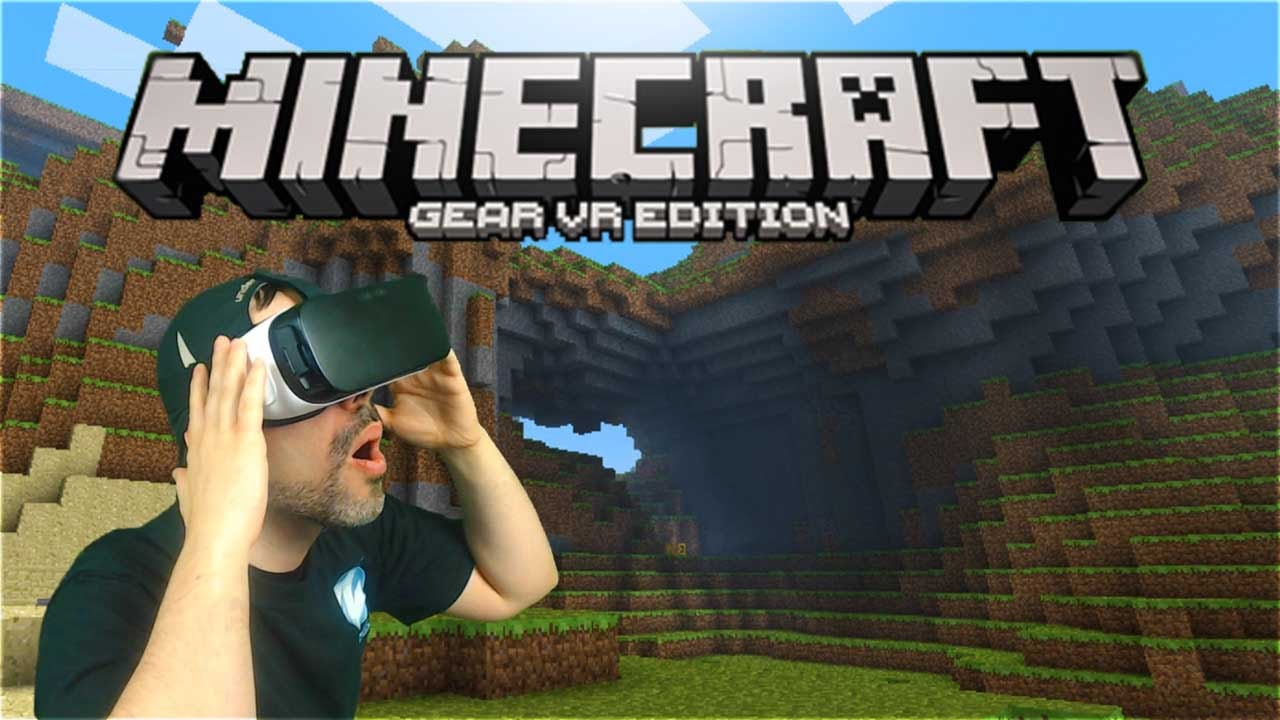 Minecraft Gear VR Gameplay Immersion Mode Minecraft VR YouTube - Minecraft vr spielen