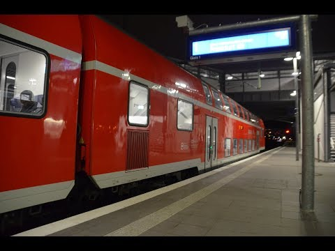 Berlin Ostkreuz - Der neue Regionalbahnsteig am 1. Weihnachtsfeiertag