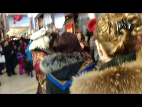 FLASH MOB RUSSIAN COMMUNITY OF TORONTO-CANADA