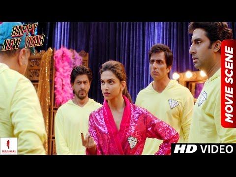 7 Minute Hai Tumhare Paas | Happy New Year Scene | Shah Rukh Khan, Deepika Padukone | Comedy Scene