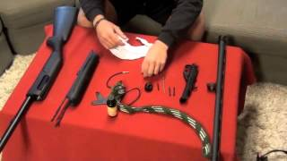 Benelli Nova Disassembly and Cleaning