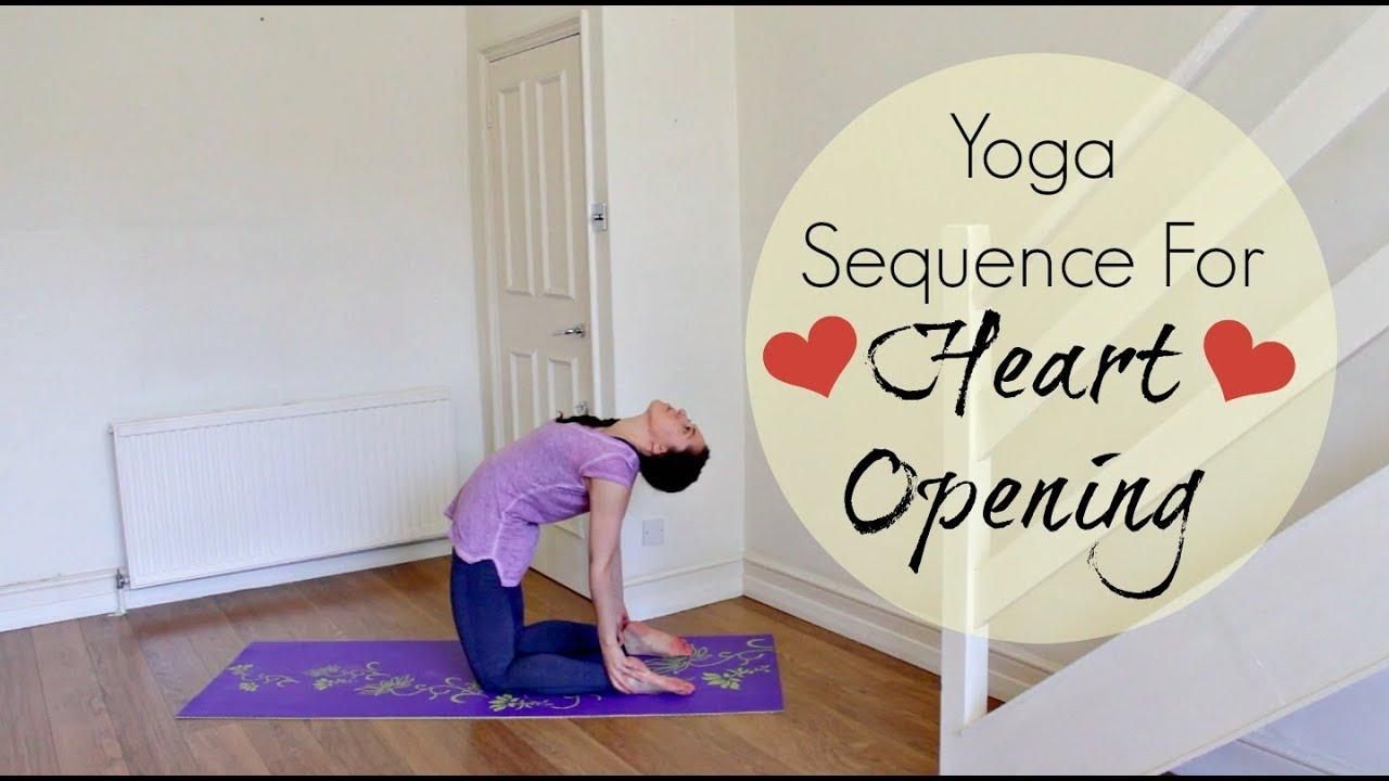 15 Min Heart Opening Yoga   Yoga for Back Flexibility   ChriskaYoga
