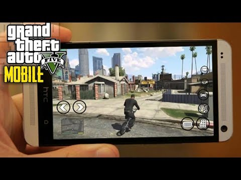 GTA 5 Mobile Android/IOS GAMEPLAY | Fan Made Open World Game