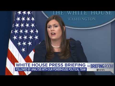 LIVE: White House Press Briefing 8/1/17, Sarah Sanders Press Conference