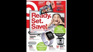TARGET BLACK FRIDAY AD 2018 - Compare To Kohls BEFORE SHOPPING!!!