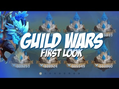 Castle Clash Guild Wars Gameplay Strategy!