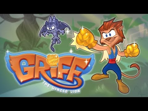 Griff: The Winged Lion - PS1 Style Spyro The Dragon Inspired Indie Game