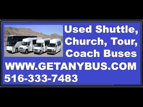 Bus For Sale: 2007 Ford E350 14 Passenger Luxury Non CDL Shuttle Bus