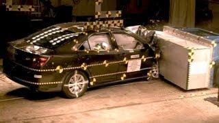 2012 Toyota Camry | Frontal Oblique Offset (35% Overlap, Passenger) Crash Test | CrashNet1