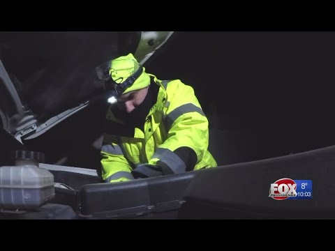 AAA keeps busy with roadside assistance during dangerously cold weather